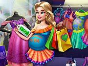 play Pregnant Mommy Realife Shopping