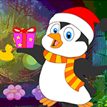 play Surprised Penguin Escape