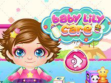 Baby Lily Care game