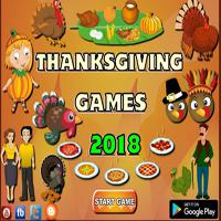 Thanksgiving Games 2018 Mobile App game
