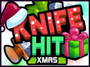 play Knife Hit Xmas