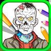play Zombie Coloring Book Pixie Art