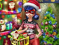 play Dotted Girl Christmas Shopping