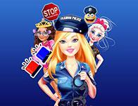 play Barbie Fashion Police