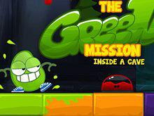 play The Green Mission Inside A Cave
