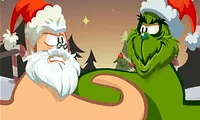 play Thumb Fighter Christmas