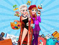 play Frozen Sisters Winter Escape