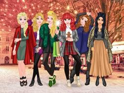 Princesses Christmas Rivals game