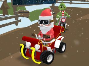 play Santa'S Rush: The Grinch Chase