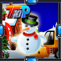 play Top10 Christmas: Find The Snowman
