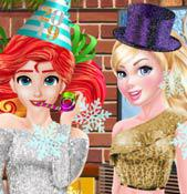 play Princess New Years House Party