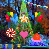 play New Year Party Garden Escape