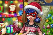 play Dotted Girl Christmas Shopping Girl