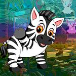 play Vivacious Zebra Escape