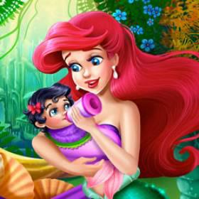 Mermaid Baby Feeding - Free Game At Playpink.Com game