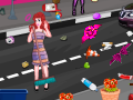 play Princesses New Year City Cleaning
