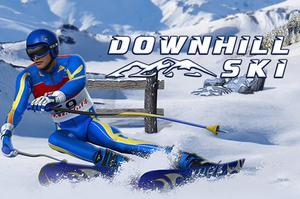 play Downhill Ski