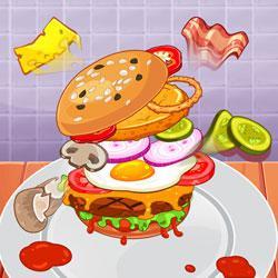 play Biggest Burger Challenge