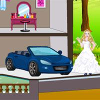 play White Princess Doll House
