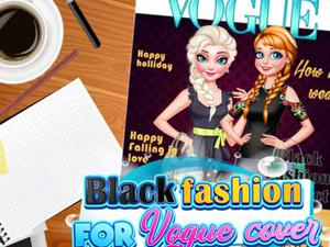 play Black Fashion For Vogue Cover