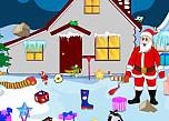 play Santa Winter Home Cleaning