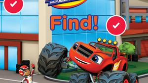 Blaze And The Monster Machines: Find! Quiz game