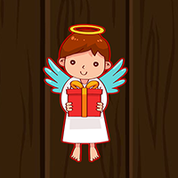 play Cute Little Angel Escape