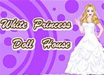 White Princess Doll House game
