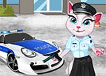Talking Angela Police Officer game