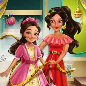 Latina Princess Magical Tailor - Free Game At Playpink.Com game