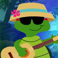play Guitar Playing Tortoise Escape