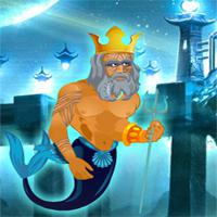 Poseidon Save Underwater World game