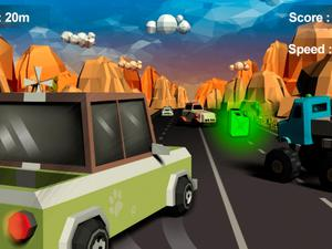 Furious Road Surfer game