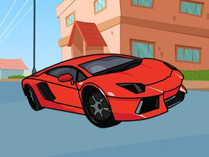 Lamborghini Coloring Book game
