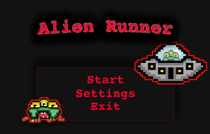 Alien Runner game