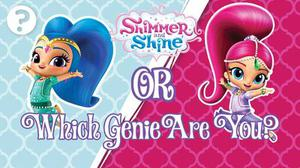 Shimmer And Shine: Which Genie Are You? Quiz! game