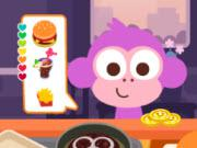 play Purple Pink Burger Shop