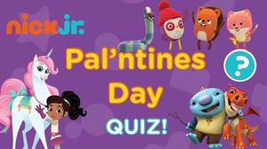 Nick Jr.: Pal'Ntines Day Quiz! game