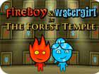 play Fireboy And Watergirl One Forest Temple