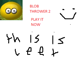 play Blob Thrower