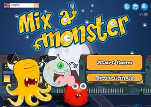 play Mix A Monster!