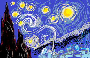 play Starry Night/Space Flight