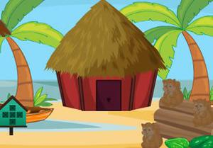 play Beach Hut Escape