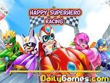 Happy Superhero Racing game