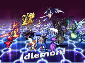 play Idlemon!