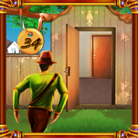 play Top10 Doors Escape Level 34