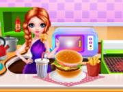 play Fast Food Cooking And Cleaning