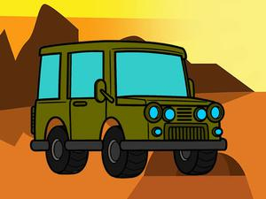 play Offroad Coloring Book