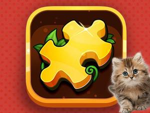 play Cats Puzzle Time