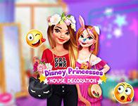 Disney Princesses House Decoration game
